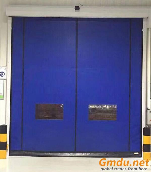 Zipper Fast Curtain Door