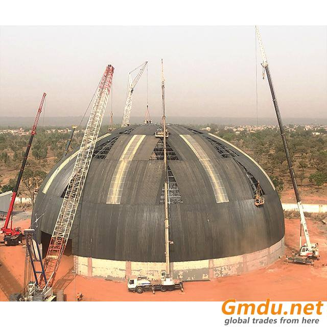 high strength & light weight steel structure according to the load coal storage system