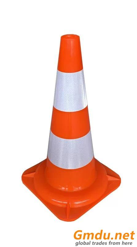 50cm Plastic Traffic Management Safety Cone Safety Control PVC Road Cone