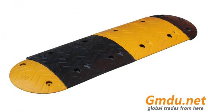 Heavy Duty Solid Rubber Driveway Speed Hump Road Speed Bump