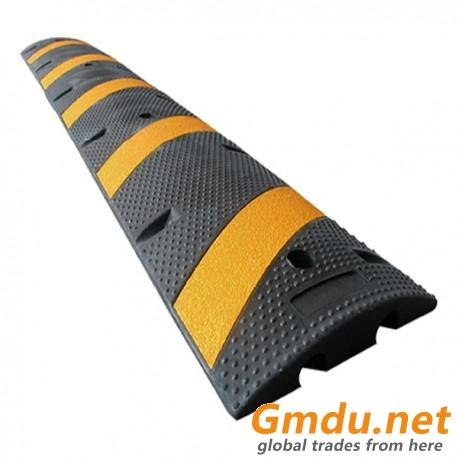 72inch Rubber Speed Bumpers Road Speed Bump for Cable Protection