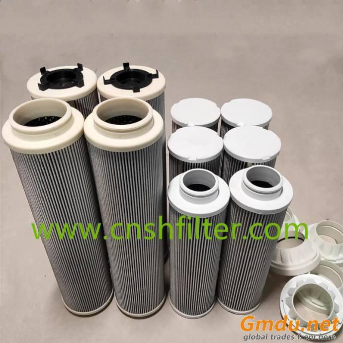 Hydraulic system filter QF9702W100H3.0C