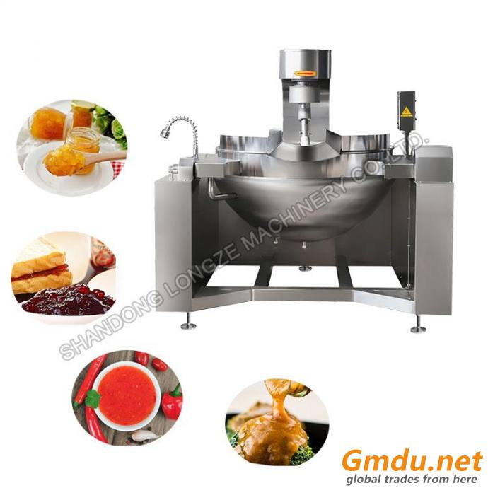 Commercial Steam Jacketed Kettle Stainless Steel Jacketed Cooking Kettle