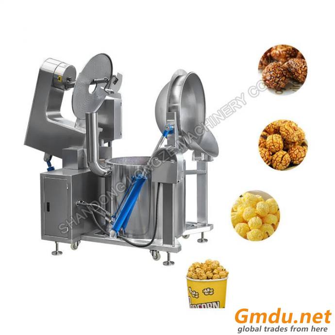 Gas Commercial Great Popcorn Machine For Sale