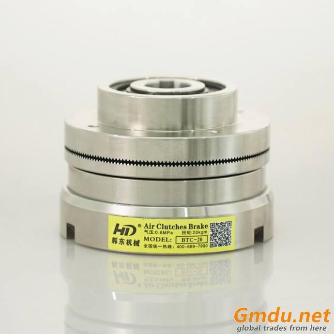 BTC-10 small size pneumatic gear clutch