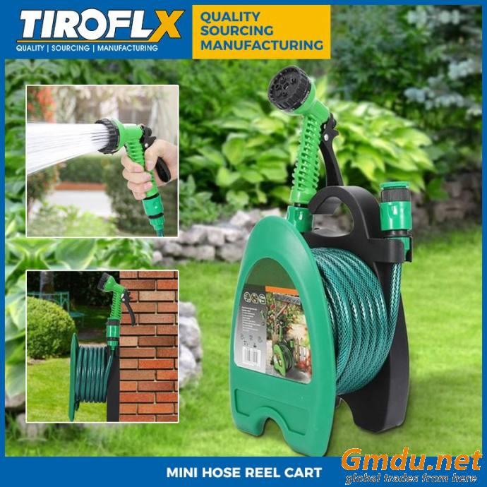 Tiroflx Mini Hose Reel Cart