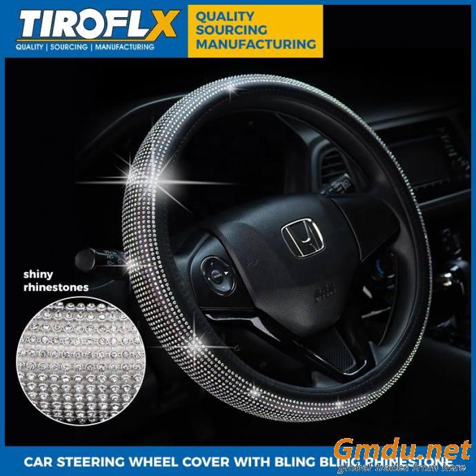 Tiroflx PU Steering Wheel Cover