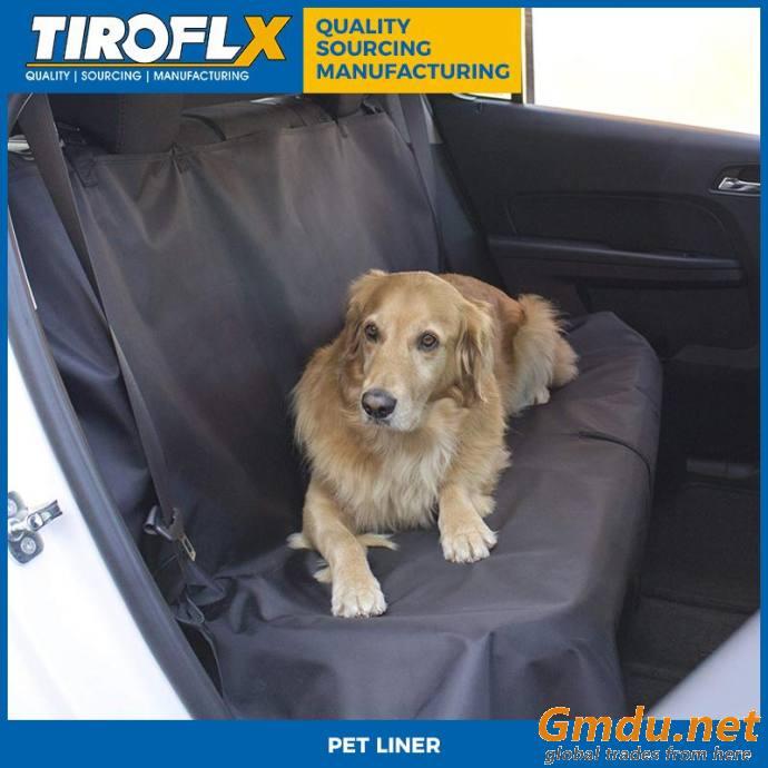 Tiroflx Durable Waterproof Dog Car Hammock Seat Cover For Pets