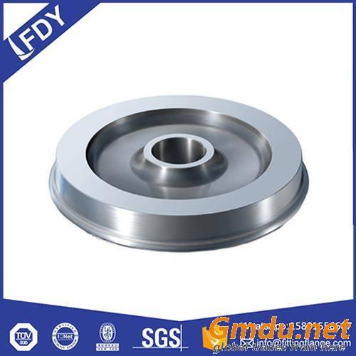 Cast Steel Rail Wheel with Rims for Locomotive/Railway Wheel Alloy
