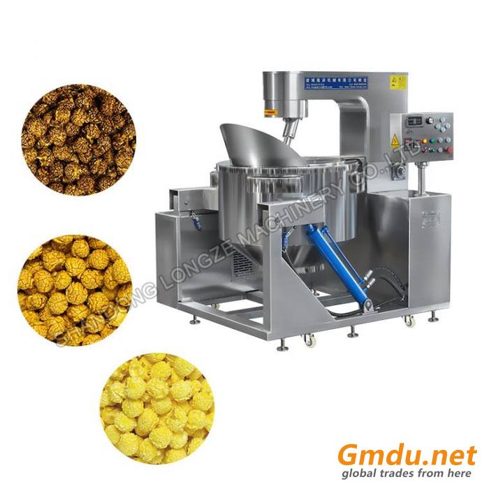 Commercial Chocolate Popcorn Machine With Low Price