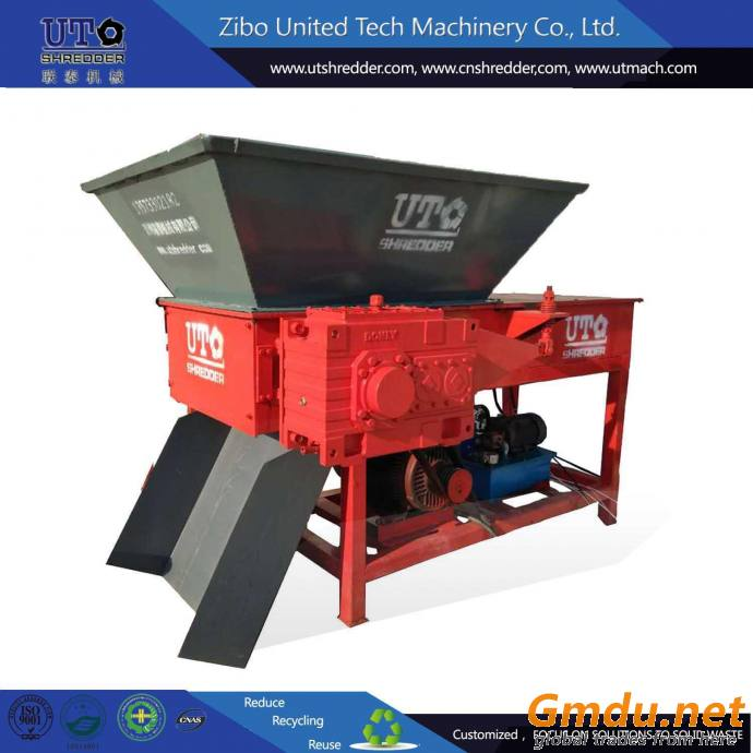 single shaft shredder plastic recycling crusher
