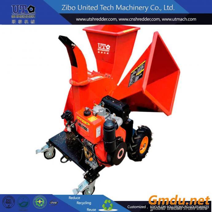 diesel 15HP wood chipper shredder