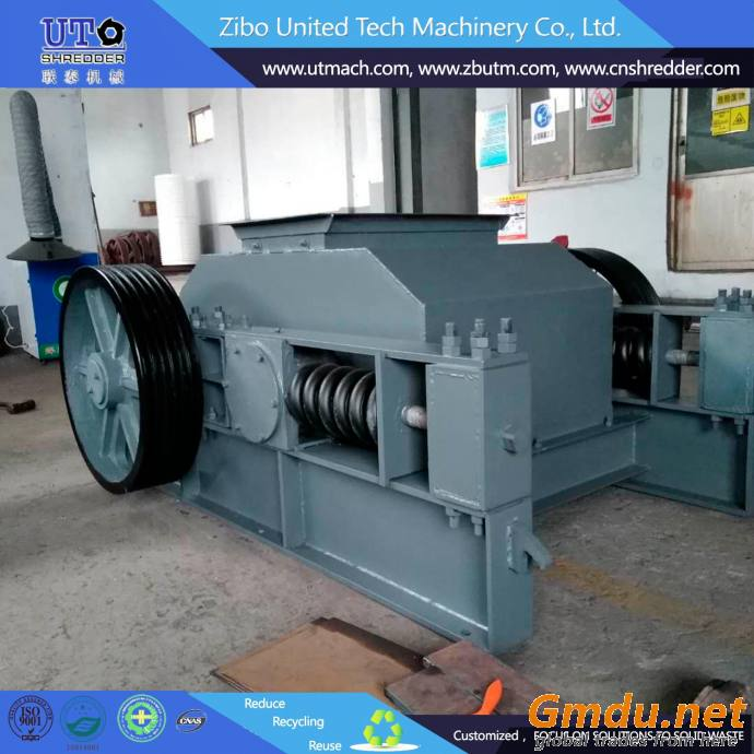 double roller stone crusher