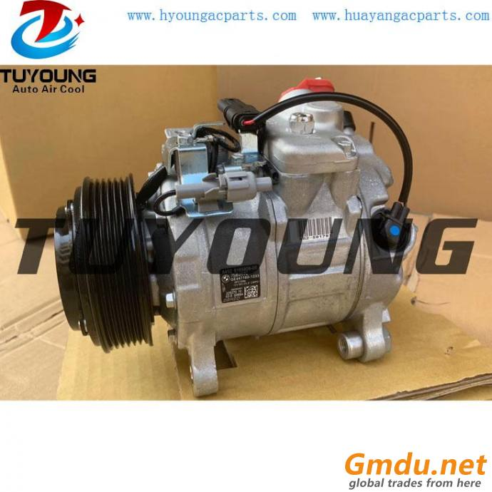 7SBU17C Car Air Conditioner Compressor For BMW 5 7 64529165808-06