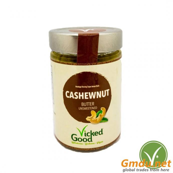 VickedGood Cashewnut Butter Unsweetened (240g)