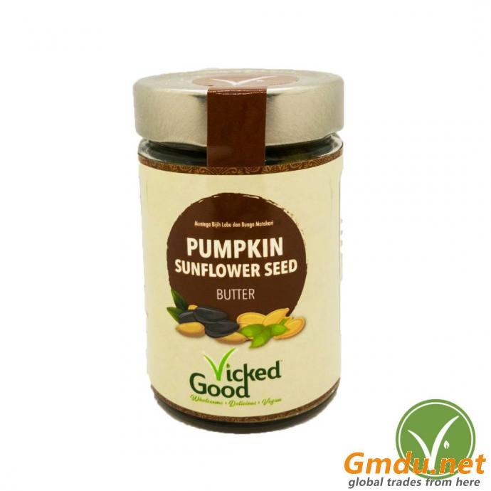 VickedGood Pumpkin Sunflower Seed Butter (240g)