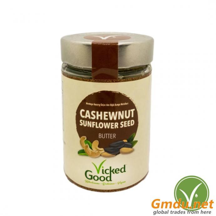 VickedGood Cashewnut Sunflower Seed Butter (240g)
