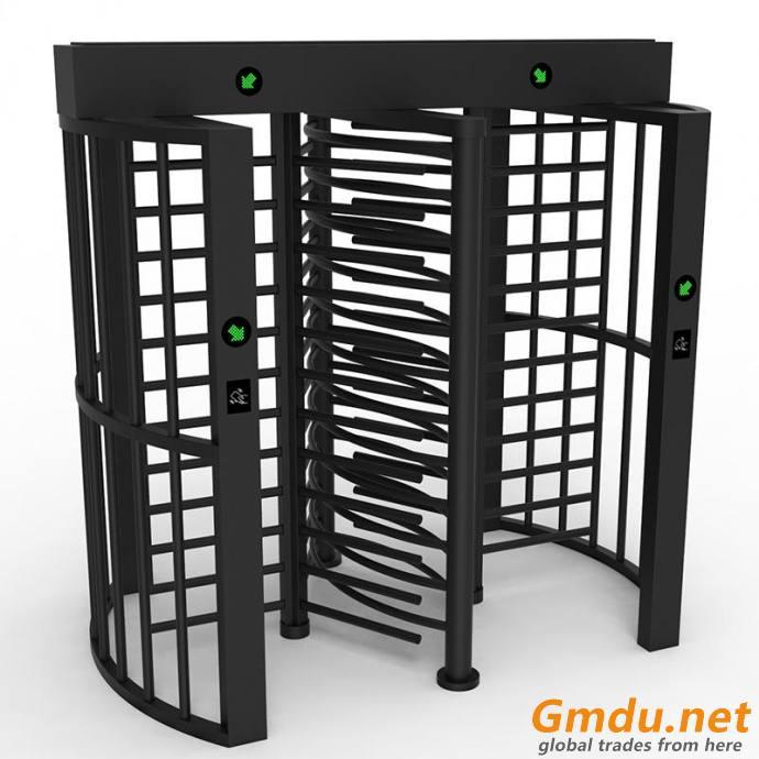 POWDER COATED FULL HEIGHT TURNSTILE GATE MT402-2-B
