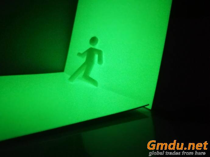 Photoluminescent Rigid Sheet