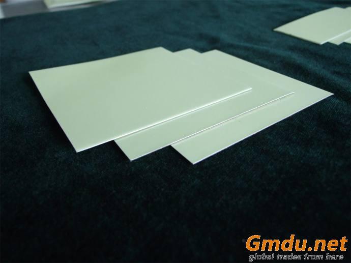 Photoluminescent Aluminum Sheet