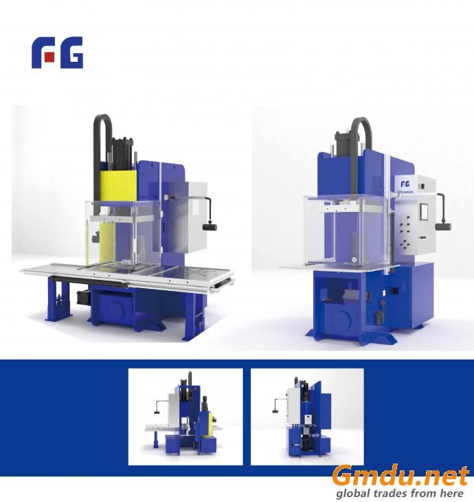 Ceramic core injection machine