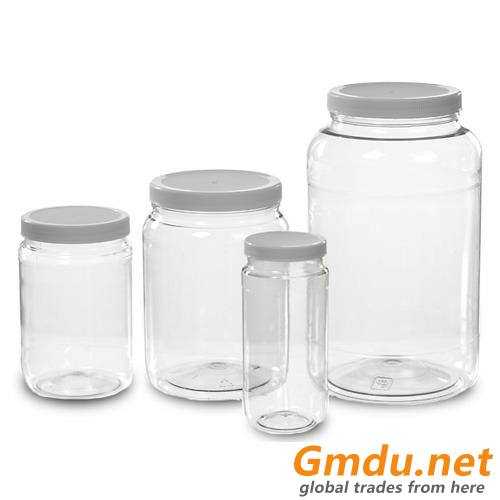 Wide Mouth PET Bottles
