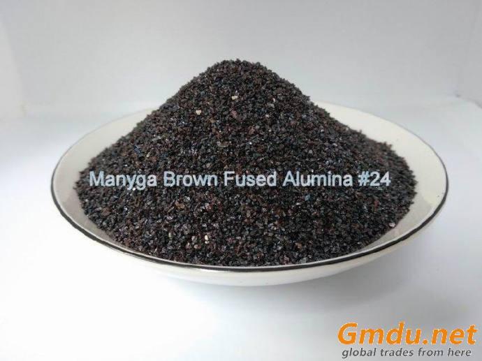 Brown Fused Alumina Powder, Brown Corundum, Mesh Number #24