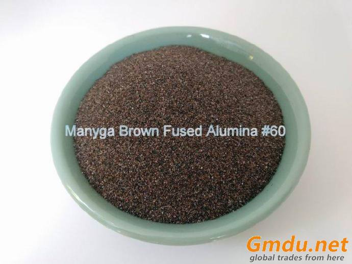 Brown Fused Alumina Powder for Abrasives and Refractory #60