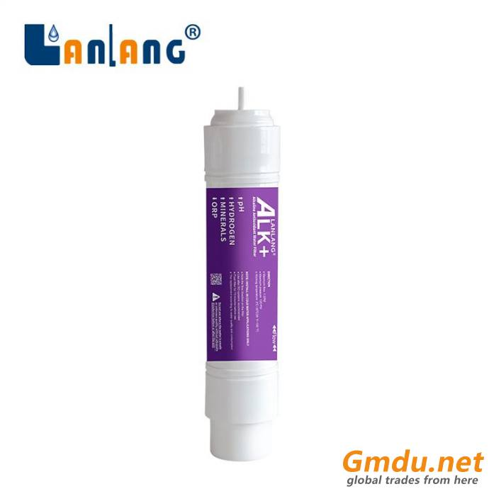 Mineral Cartridge to Raise the pH of Water