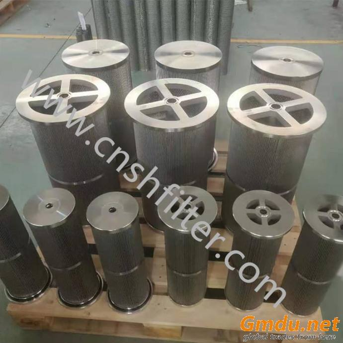 Cement plant return filter KF-80A*10F