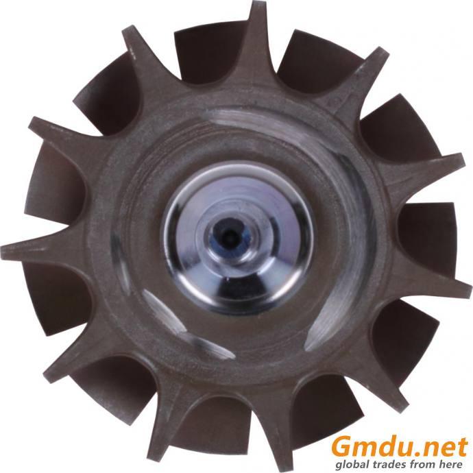 HE400VG;HE451VE Shaft wheel 2840238 Ind 72mm Exd 67mm 11blades.