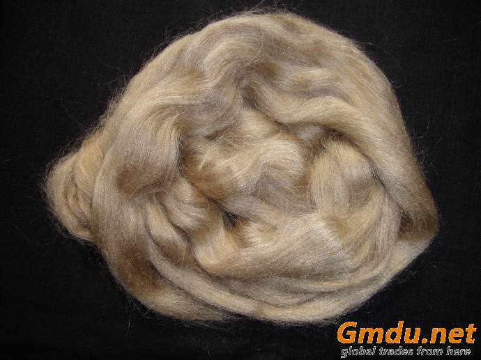 Spun Silk fiber