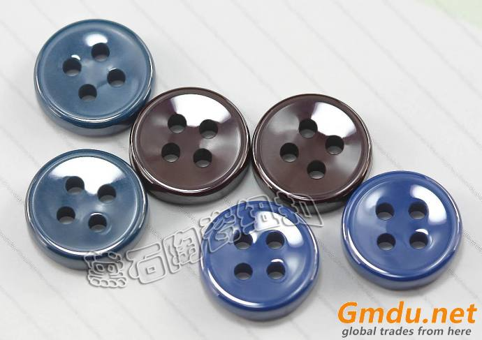 Fashion zirconia ceramic button for shirts
