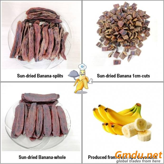 Solar Sun dried Cavendish Banana
