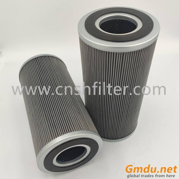 Cement plant return filter ZALX160x800-MZ1