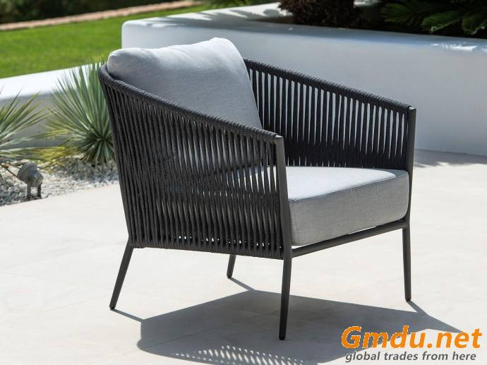 Gizella Rope Outdoor Lounge