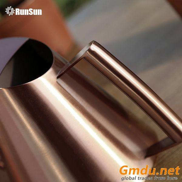 Rose gold & copper Mirror light metal watering cans Amazon