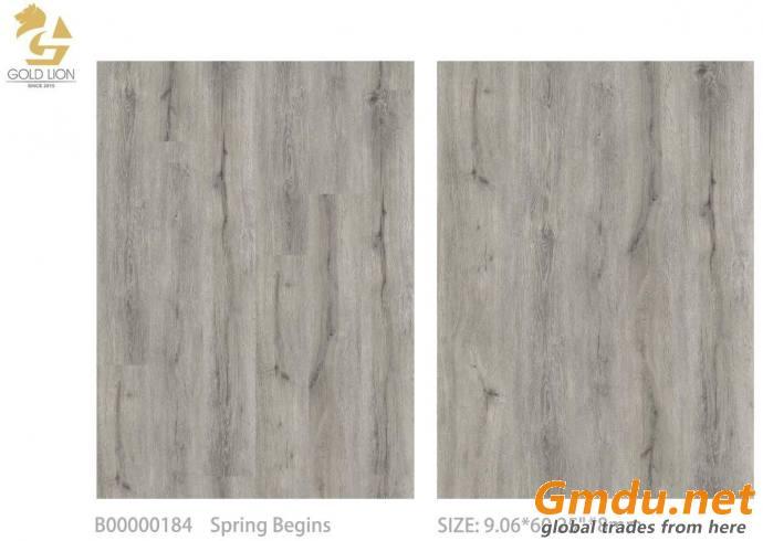 "SPC vinyl flooring B184 Spring Begins 9.06"" * 60.25"""