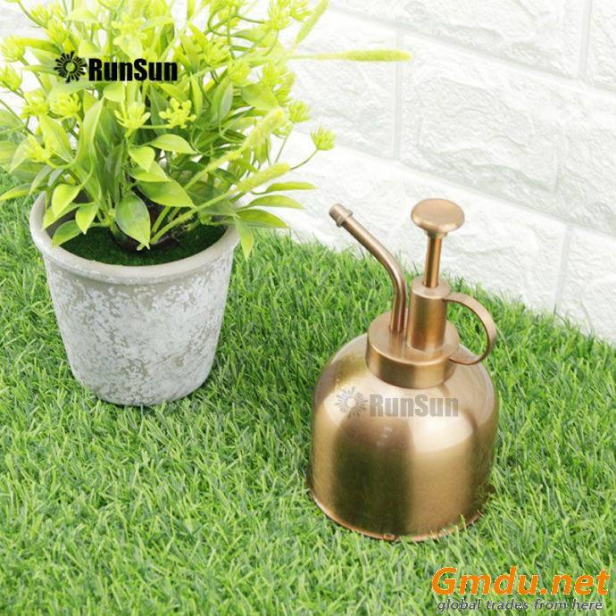 Metal Sprinkling Can Watering for retro rose gold