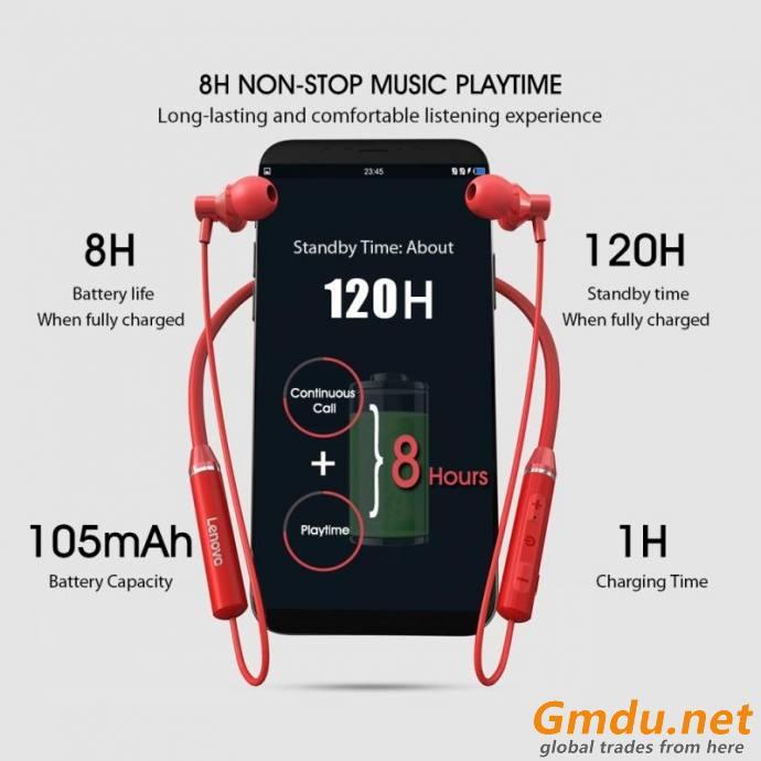 XE-05 neckband stereo wireless earphones