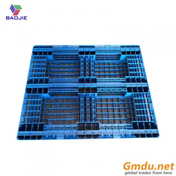 Six runners plastic pallets for wareshoue storage