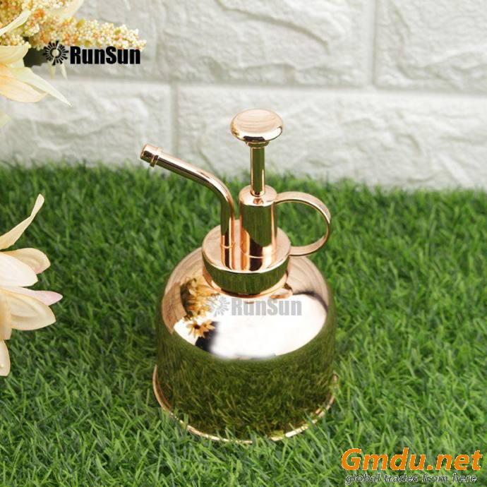 Indoor Plant Spray Bottle for Garden Rose gold