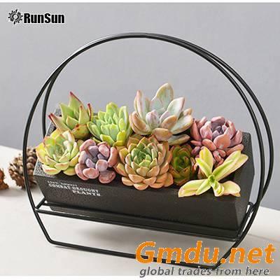 RunSun succulent plant pots strawberry plant pot window box