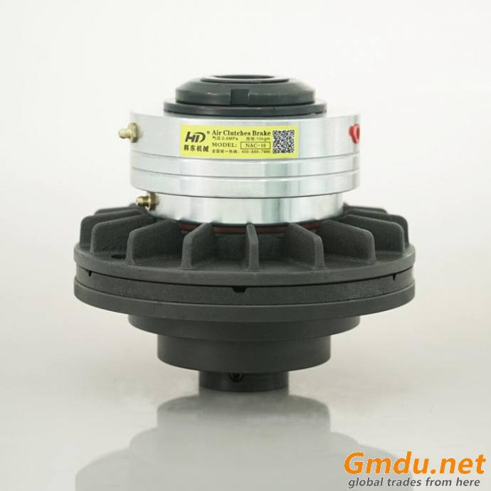 T-600 air driven clutch with taper bushing