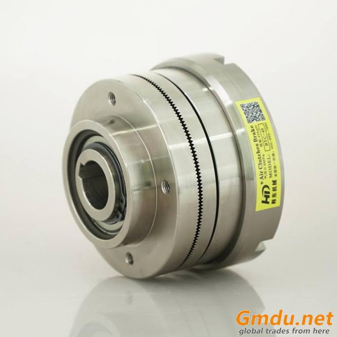 RBTC pneumatic driven shaft mounted tooth clutch