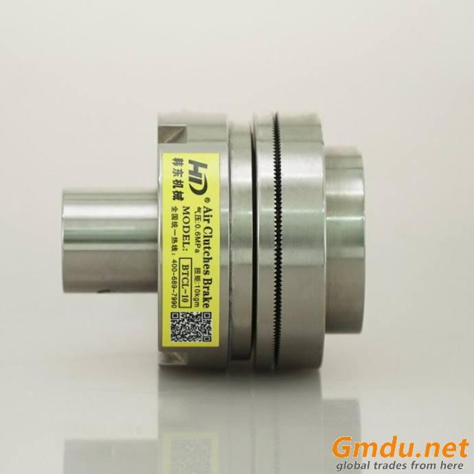 Customized prolong shaft pneumatic tooth clutch BTCL-10