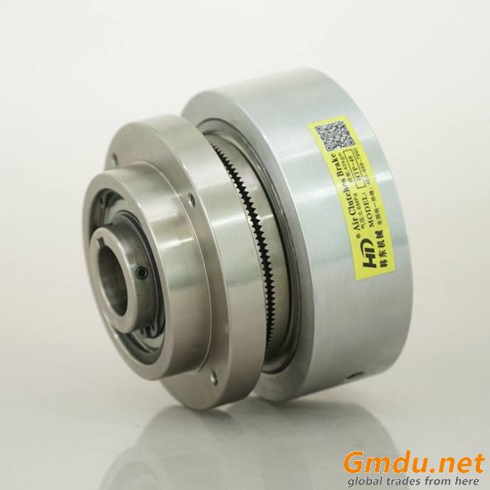 HTP model pneumatic tooth friction clutch