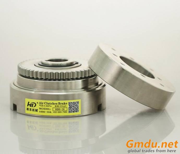 HBS pneumatic actuated inside and outside tooth clutch