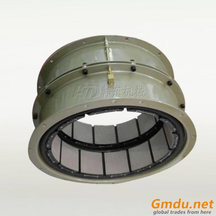 12CB350 pneumatic actuated drum type clutch