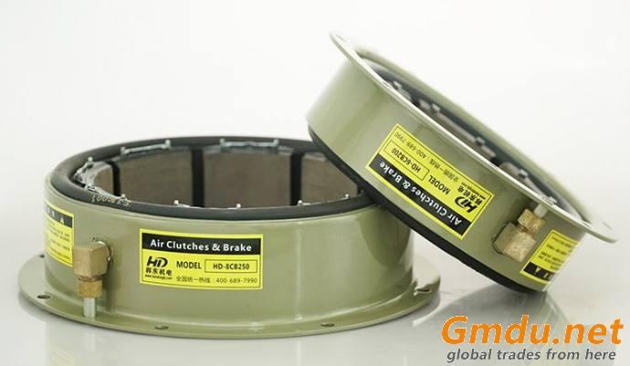 Korea imported CB air driven rubber tube clutch brake